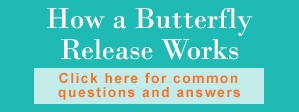 FAQ about butterfly releases